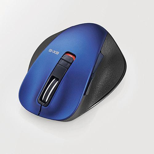 マウス エレコム Bluetooth 無線 ワイヤレス M-XGS10BBBU EX-G Bluetooth BlueLEDマウス Sサイズ ブルー