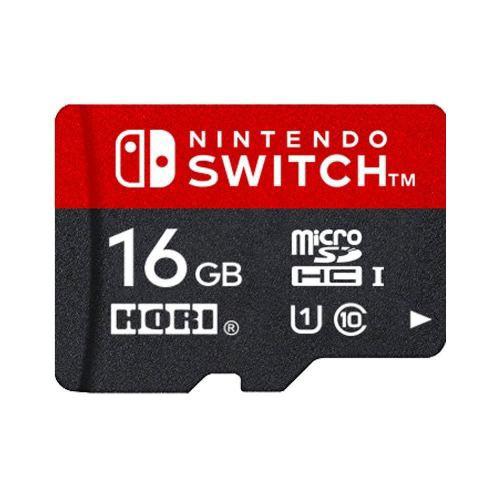 ホリ マイクロSDカード16GB for Nintendo Switch  NSW-042