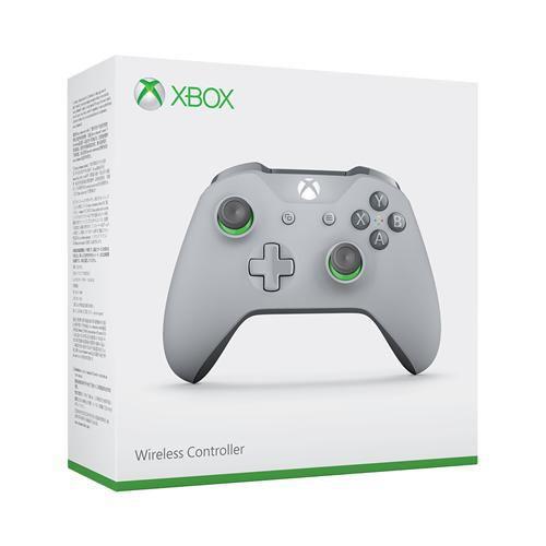 Xbox ワイヤレス コントローラー (グレー/グリーン) WL3-00062