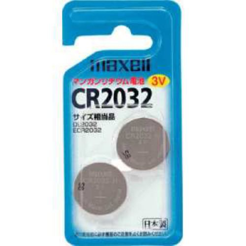 日立マクセル  リチウムコイン電池   CR2032 2BS ...