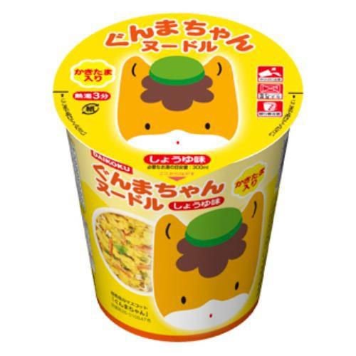 大黒食品  ぐんまちゃんヌードル しょうゆ味(かき...