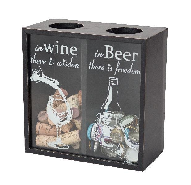 ¶ボトルキャップストッカー【WINE & BEER】