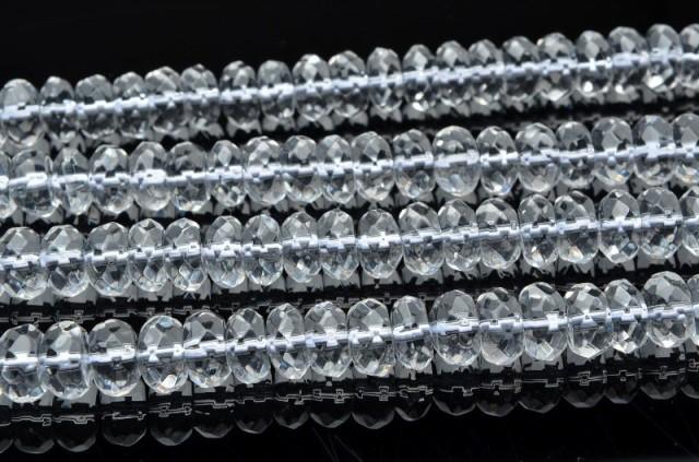 水晶ボタンカット 4x8mm 1連(38cm)_R5519-8