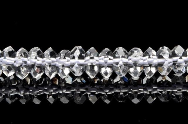 水晶ボタンカット 4x8mm 1連(約38cm)_R890-8/A...