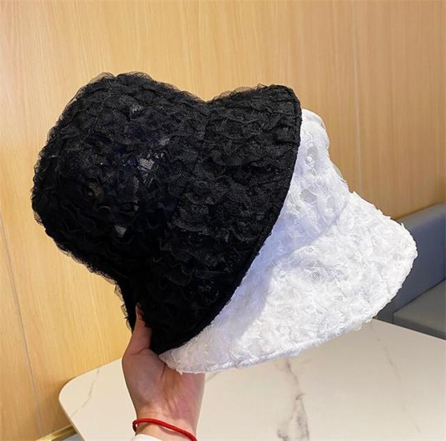 話題の注目アイテム レース 薄い 通気性のある 帽...
