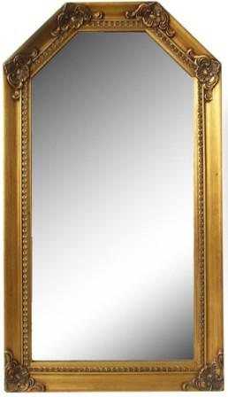 【壁掛け】ミラー 鏡 変形六角型(中) ≪アンテ...