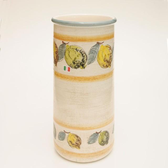 【イタリア製】 陶器かさ立て レモン (KPO/96-...