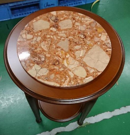 【送料無料】【イタリア製家具】 大理石コンソー...