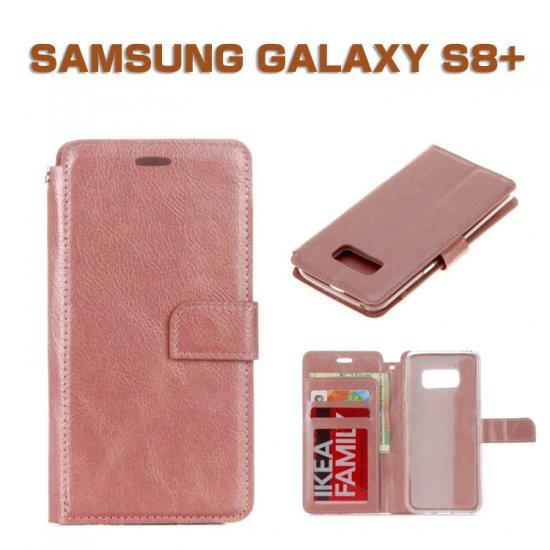 Samsung GALAXY S8+ ケース 手帳型 レザー 上質で...