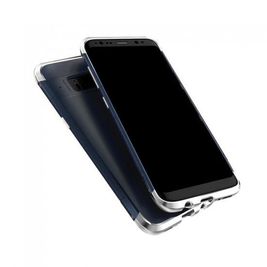 Samsung Galaxy S8 アルミバンパー ケース 背面パ...