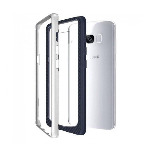 Samsung Galaxy S8 ケース 耐衝撃 TPU ハード シ...