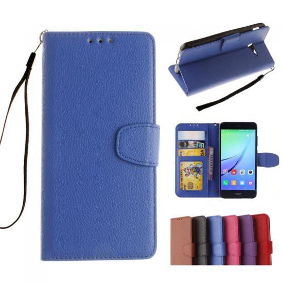 Huawei P10 lite ケース 手帳型 レザー シンプル ...