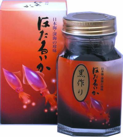 ・ほたるいか 黒作り (瓶入り)/かね七/1080円...