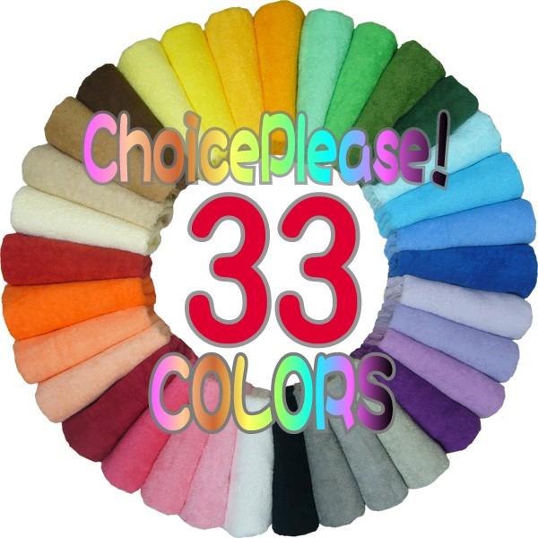33色から選べる高級カラータオルハンカチ日本製(...
