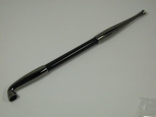 新品 日本製(手造り)煙管 キセル/ブラックニッ...