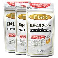 亜麻仁油フラオー 180粒 x 3袋(徳用) 【送...