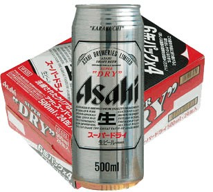 アサヒ スーパードライ500ml 24缶入り(1ケース)【...