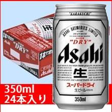 アサヒ スーパードライ 350ml缶24本入り/アサヒビ...