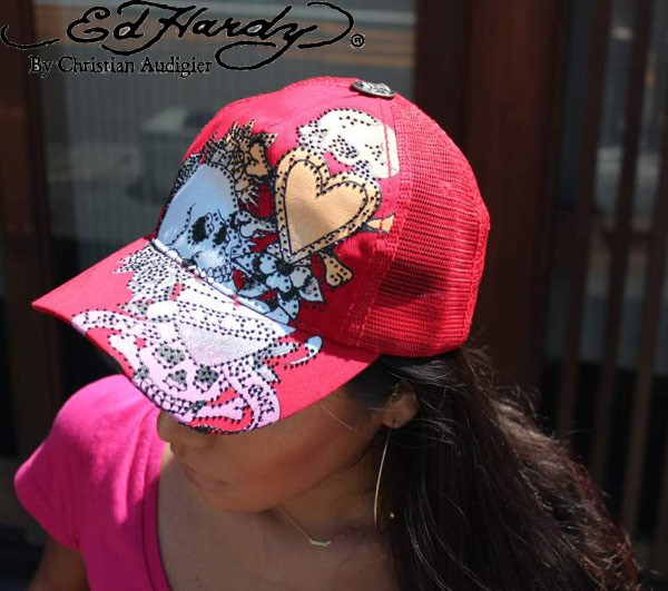 【ED HARDY  CAP】 BASIC CAP/ TIGER SIGNATURE ...