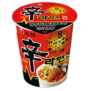 [訳アリ]農心 辛ラーメン(65g)(カップ麺)賞味...