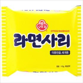 オットギ ラーメンサリ115g*5袋 麺のみ ★韓国...