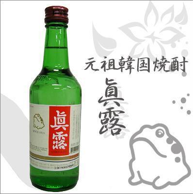眞露 JINRO  ジンロゴールド( 360ml) アルコール...