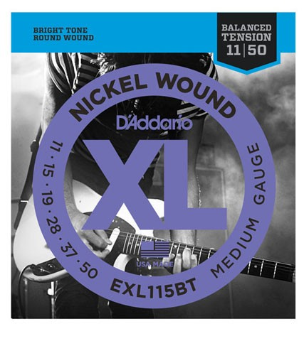 D'addario/エレキ弦 EXL115BT Balanced Tension【...