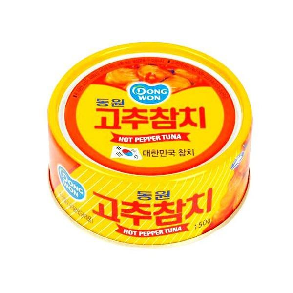 東園 唐辛子★マグロ(辛口ツナ)缶詰 150g★韓国...