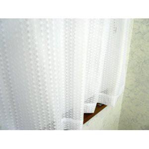 防炎加工水玉ミラ−レ-スカ-テン巾100cmX丈176cm2...
