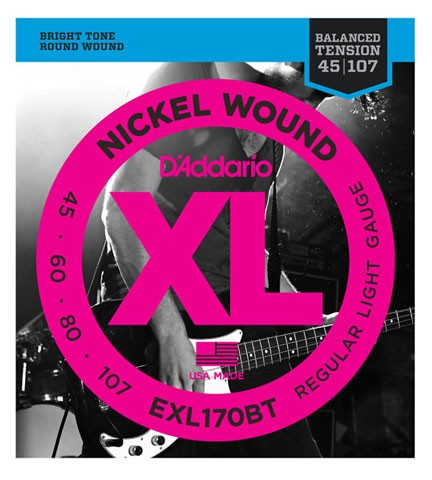 Daddario/ベース弦 EXL170BT Balanced Tension【...