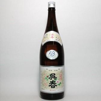 プレゼントにも!清酒『呉春』本醸造(本丸) 180...