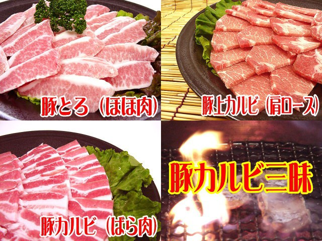 九州・大分県産○豚カルビ三昧★焼肉セット[合計...