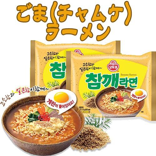ごま(チャムケ)ラーメン 113g★韓国食品市場★...