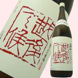 【冬しぼりたて新酒】八海山 越後で候 純米吟醸72...
