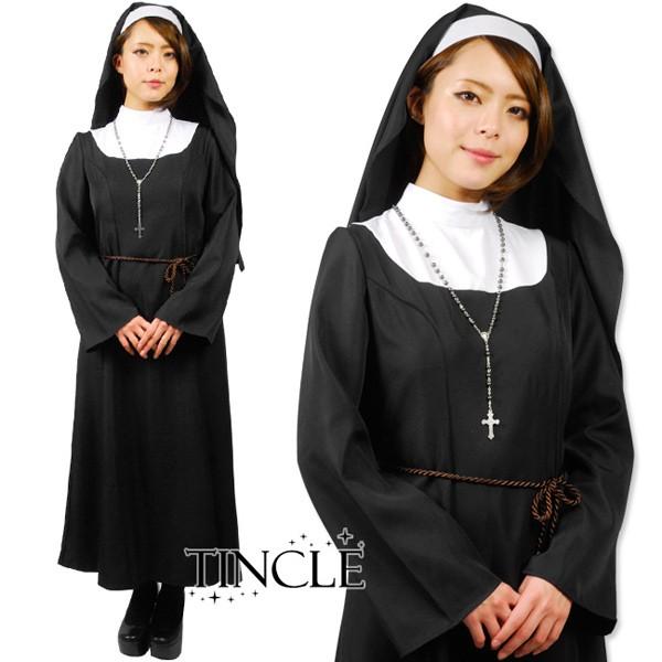 【早割】神聖なる シスター 修道女 ハロウィン 衣...