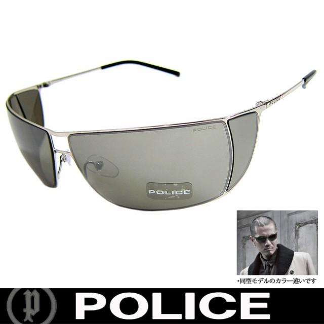 POLICE ポリス 復刻版 ミラー サングラス EXILE ATSUSHI着用 S2819 579K 国内正規代理店商品 定価24150円 (33)