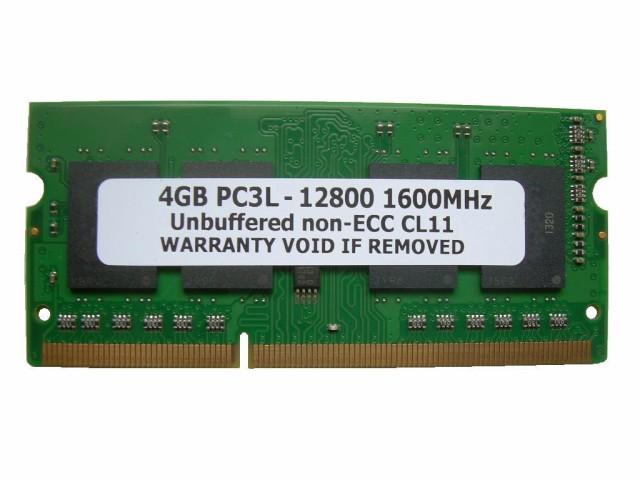 SODIMM 4GB PC3L-12800 DDR3L 1600 204pin CL11 ...