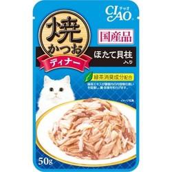 【いなばペット】焼かつおディナー ほたて貝柱入...