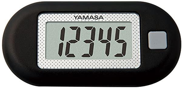 山佐(YAMASA) ポケット万歩計 ブラック ZEX150