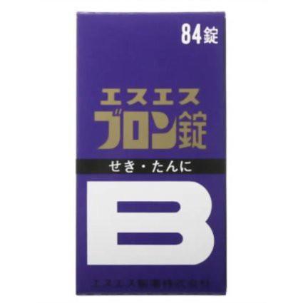 【指定第2類医薬品】 エスエス ブロン錠 84錠 【...