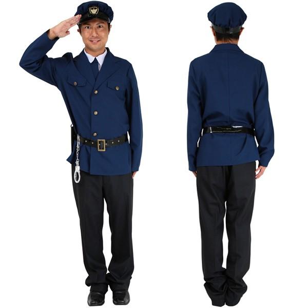 ハロウィン コスプレ 衣装 安い メンズ 警察官 警...