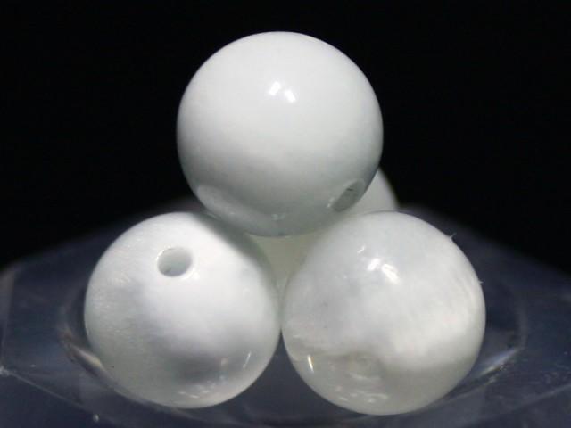 【天然石 丸ビーズ】アイスラリマー (2A) 8mm [1...
