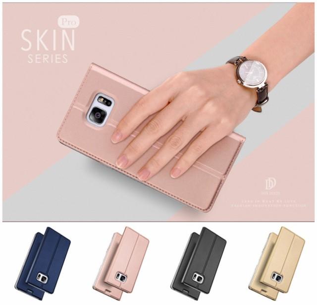 全4色 Samsung Galaxy S7 edge/SCV33/SC-02H用レ...