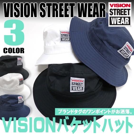 VISION STREET WEAR バケットハット ★ ヴィジョ...