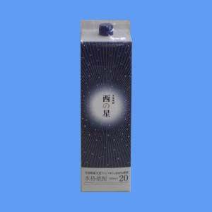 大分 麦焼酎 三和酒類 西の星 20° 1800ml パック...