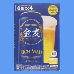 サントリー 新ジャンル 金麦500mlケース(24本入り...