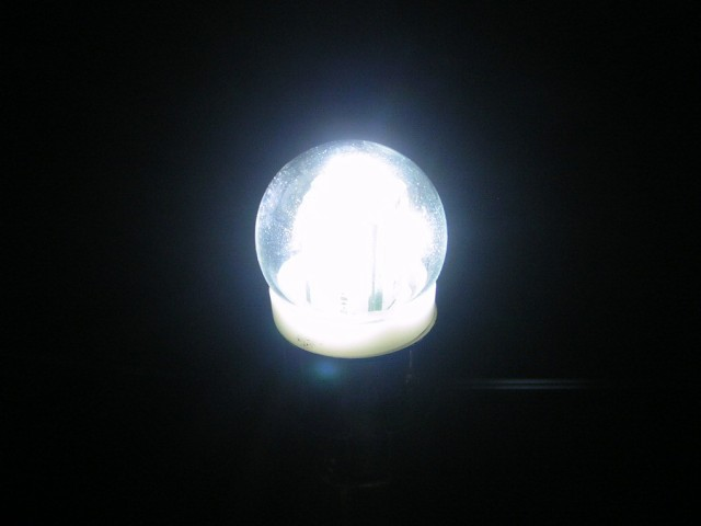 綺麗に光る【LED電球型 BA15Sトラック用24V】JET...