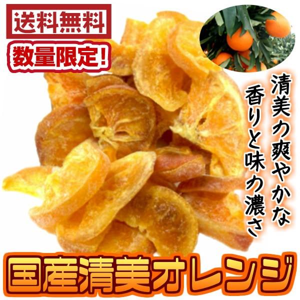 (国産清見オレンジ 500g)送料無料 ドライフル...