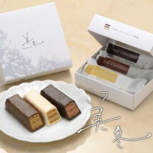 白い恋人に続くお菓子 美冬 3個入 石屋製菓