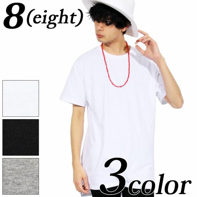 Tシャツ メンズ 半袖 無地 ロング丈 全3色 新作 T...